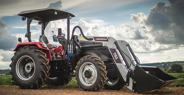 Carregador frontal auxilia produtores rurais a otimizar atividades que envolvem movimentação de materiais, carregamentos e adubação.png