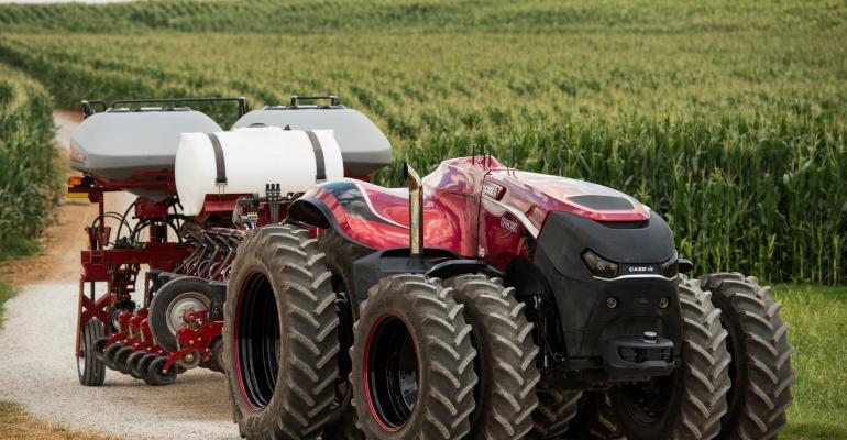 Case IH - Magnum - Trator Autonomo 02 - Ferramentas com sistemas autônomos são tendências da Agricultura 4.0