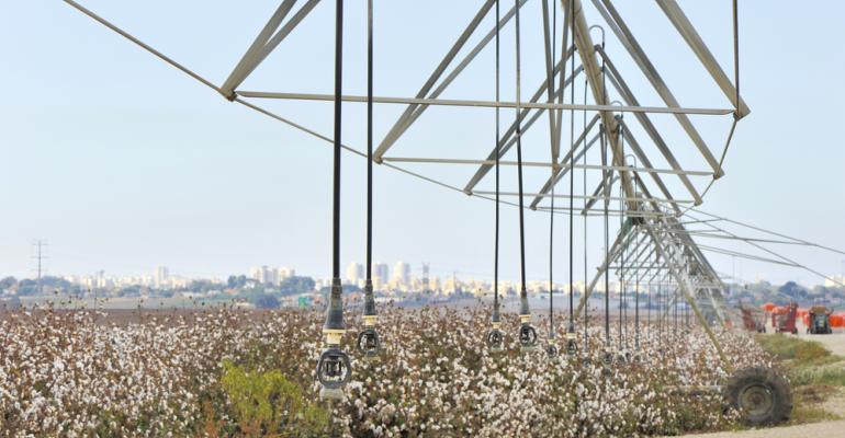 Todos os segredos do manejo de irrigação para algodão
