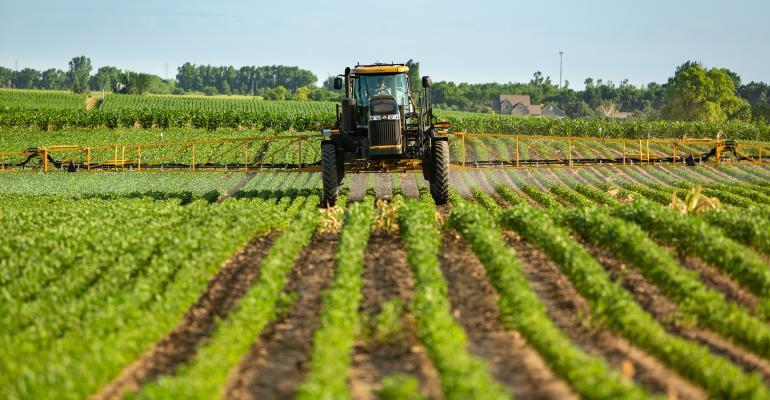 Agricultura de precisão-pulverização