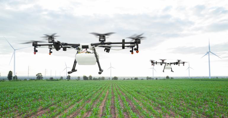 Drones + software: Aliados contra doenças e pragas na soja