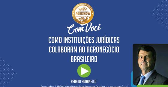 Como instituições jurídicas colaboram ao agronegócio brasileiro